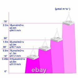5000w Led Grow Light Full Spectrum Pour L'intérieur Plante Médicinale Fleur Veg Lampe Ip65