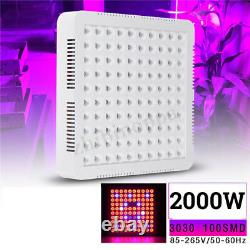 5000w Led Grow Light Hydroponic Full Spectrum Indoor Veg&flower Plant Lamp&panel
