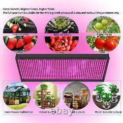 5000w Led Plantes Grow Light Full Spectrum Pour Les Fleurs De Veg À L'intérieur Du Panneau De Croissance