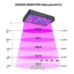 600w 1200w Watt Led Lampe Faire Pousser Des Plantes De Fleurs Oganic Croissance Full Spectrum