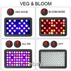 600w Full Spectrum Led Plant Grow Light Reflector For Hydroponics Veg Bloom