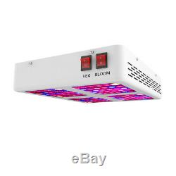 600w Grow Light Led Full Spectrum Veg Flower + 48'x48 Grossir Tente Kit 4'x4'x6
