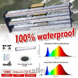 7000w Led Grow Light Tube Full Spectrum Double Intérieur Ensemencement Veg Flower Ip65