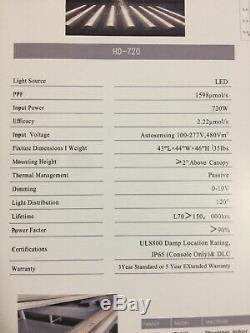 720watt Led Grow Light Full Spectrum Pour Plantes Médicinales Intérieur Fleur Veg Bloom