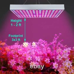 8000w Led Grow Light Full Spectrum Indoor Hydroponic Plant Veg Bloom Flower Lamp
