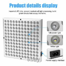 8000w Led Grow Light Full Spectrum Plant Culturing Lamp Kit Pour Les Fleurs De Veg Intérieur