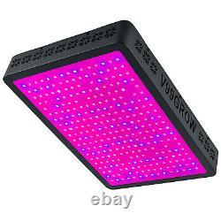 8000w Led Grow Light Lamp Full Spectrum Pour Indoor Plant Veg Flower Daisy Chain #