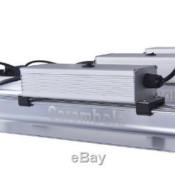 8000w Led Grow Light Strip Bar Complet 3500k Spectrums Pour Veg & Flower Commutateur Double