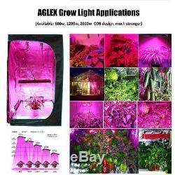 Aglex 2000 Watt Cob Led Grow Light Full Spectrum Pour Hydroponique Plante Veg Fleur