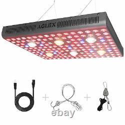 Aglex 3000w Cob Led Grow Light Full Spectrum Hydroponics For Indoor Veg Plants