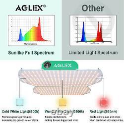 Aglex 4000w Led Grow Light Full Spectrum For Indoor Plant Veg Flower Dimmable