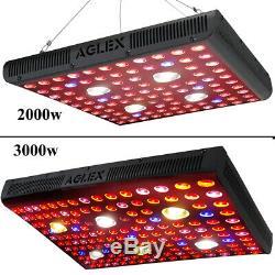 Aglex Cob 2000w 3000w Led Grow Light Full Spectrum Plante Pousse Lampe Veg Bloom