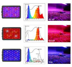 Bestva 1000w Led Grow Light Full Spectrum 12 Bande Pour Plantes D'intérieur Veg Bloom