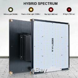 Bestva 1000w Led Grow Light Lamp Panel Veg Et Flower Greenhouse Full Spectrum