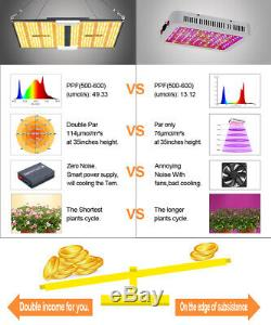 Bestva 2000w Led Grow Light Panel Sanan Led Chips Veg Fleurs Plantes D'intérieur