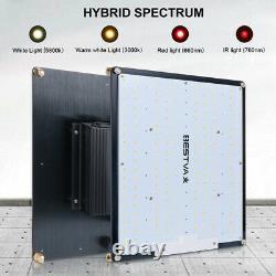 Bestva 4000w Led Grow Lumière Sunlike Full Spectrum Intérieur Hydroponique Veg Fleur