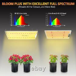 Bloom Plus 2500w Led Grow Light Sunlike Spectre Complet Plantes D'intérieur Veg Fleurs