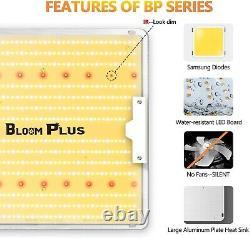 Bloom Plus 3000w Led Grow Light Sunlike Full Spectrum Indoor Plants Veg Bloom