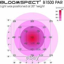 Bloomspect 1500w Led Grow Light Full Spectrum Pour Tous D'intérieur Plante Veg Fleur