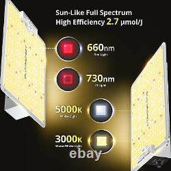 Bloomspect S1000 Led Grow Light Full Spectrum For Indoor Plants Veg Bloom Ir