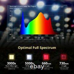 Bloomspect Sl1000 Led Grow Light Full Spectrum Pour Les Plantes Intérieures Veg Bloom Ir