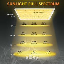 Bp 3000w Led Grow Light Sunlike Full Spectrum Pour Plantes D'intérieur Veg Lampe Fleur