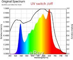 Cali Gro Led 250w Lumière Samsung Osram Grandir Lm301h Plantes D'intérieur Veg Fleur Uv