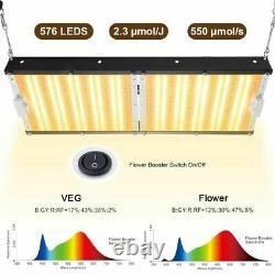 Carambola Cbg2000w Led Grow Light Full Spectrum Pour Les Plantes Intérieures Veg Flower Hps