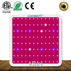 Castnoo 1000w Led Grow Light Lamp Panel Full Spectrum Hydroponique Veg Croissance Fz