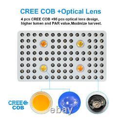 Cree Cob Series-high Par 2000w 12band Full Spectrum Led Grow Light Veg Flower Ul
