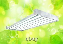 Durolux Dl8412t T5 Ho Steel Indoor Grow Light Fixture 4 Ft 12 Lampes Veg Bulb