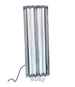 Durolux Dl945 T5 Ho Grow Light 4 Ft 4 Ampoules Fluorescent Fixture For Plants, Veg