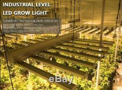 Ensemble De 10 800w Led Grow Light Bar Strips Spectre Complet Plantes D'intérieur Veg Fleurs