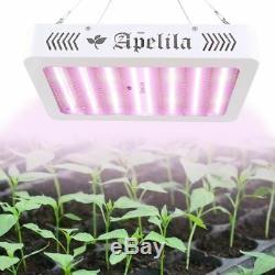 Ensemble De 2 2000w Led Grow Light Full Spectrum Pour Tous D'intérieur Plante Veg Lampe Fleur