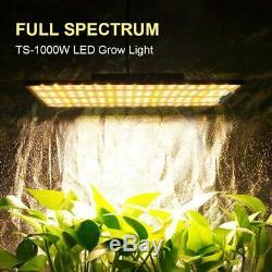 Famurs 1000w Lumière Du Soleil Full Spectrum Led Grow Light Indoor Et Bloom Ensemencement Veg