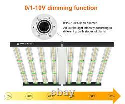 Fc 3000 Pro 4bars Commercial Full Spectrum Led Grow Light Hydroponics Veg Flower