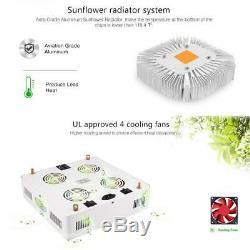 Full Spectrum 800w Cob Led Grow Light Pour L'intérieur Plante Veg Fleur Lampe De Croissance