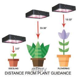 Grossir Led Light Panel Hydroponique Kit Full Spectrum Légumes Flower Bud Blooming