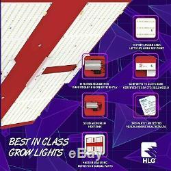 Hlg 550 V2 R Horticulture Éclairage Led Élèvent La Lumière Groupe Bloom / Veg 120 Volt