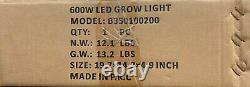 Hydro Crunch Équivalent 600-watt Veg/bloom Full Spectrum Led Plant Grow Light