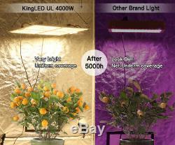 Kingplus 4000w Full Spectrum Led Faire Pousser Des Plantes De Lumière Veg Flower Samsung Lm301b