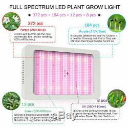 Led Grow Light Full Spectrum 8000w Pour Hydroponique Veg Flower Panel Lampe Pour Plantes