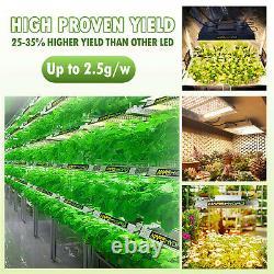 Mars Hydro 600w 1000w 2000w 3000w Ts Sp Fc Led Grow Light Veg Flower Indoor Tent