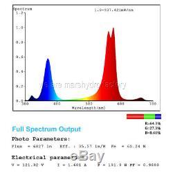 Mars Hydro 600w Led Grow Light Full Spectrum Pour L'intérieur Veg Flower Lamp Usine
