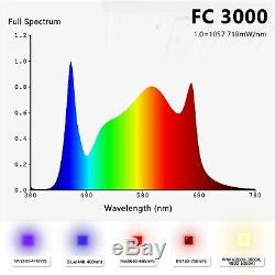 Mars Hydro Fc 3000 Led Grow Light Samsung Lm301b Pour Tous D'intérieur Plante Veg Fleur