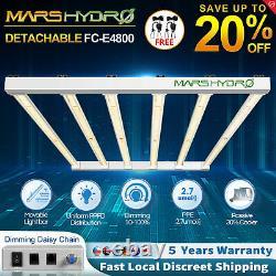 Mars Hydro Fc-e 4800 Led Grow Light Full Spectrum Uv Ir Indoor Plant Veg Flower