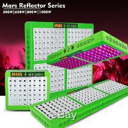Mars Hydro Led Grow Light Full Spectrum Réflecteur 300w 600w 800w 1000w Veg Bloom