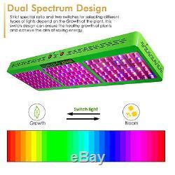 Mars Hydro Led Grow Lights Full Spectrum Réflecteur 800w Plantes D'intérieur Veg Fleurs