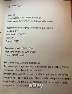 Mars Hydro Pro II Cree 128 600w Led Grow Light Full Spectrum Veg Fleur Plante