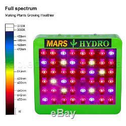 Mars Hydro Réflecteur 300w Led Grow Light Spectre Complet Plantes D'intérieur Veg Fleurs